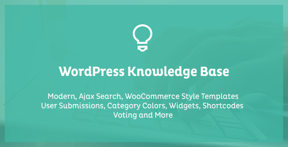 WordPress Knowledge Base & Wiki Plugin for WordPress with Frontend Submission