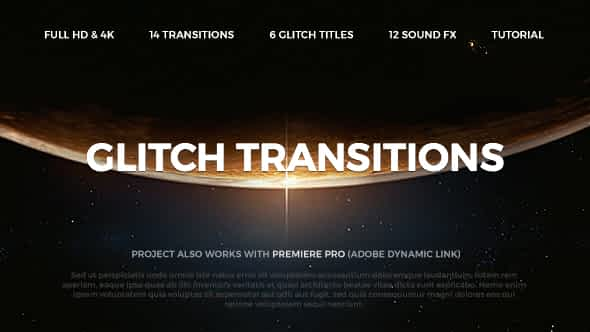 Glitch Transitions Free Download