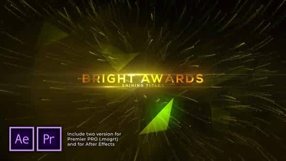 Bright and Shine Awards Titles Free Download