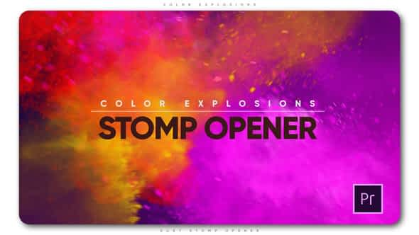 Color Explosions Stomp Opener Free Download