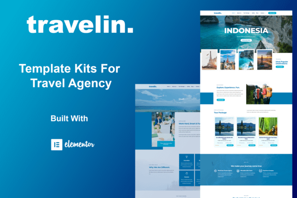 Travelin - Travel Elementor Template Kit Nulled
